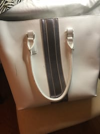 White leather tote bag new Frederick, 21701