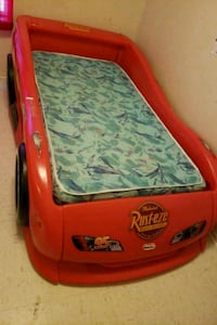 Twin Cars bed with mattress Martindale, 78655