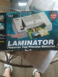 Laminator, new, with 200 pouches