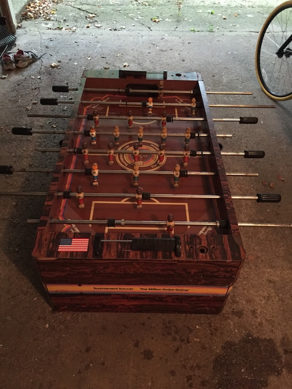 Used Million Dollar Game Foosball Table For Sale In Grand Rapids - Where to buy foosball table