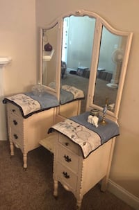 ANTIQUE VANITY PRICED TO MOVE!  Augusta