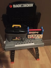 children's tool table with tools