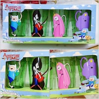PRICE IS FIRM, PICKUP ONLY - Adventure Time 4 Pack Cup Gift Set - BNIB Toronto, M4B 2T2