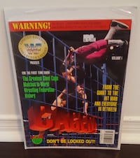 WWF WWE limited edition collector's series CAGED!  Bradford West Gwillimbury