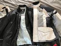 REV'IT Motorcycle Jacket and Pants. Jacket is XL and Pants are size 34