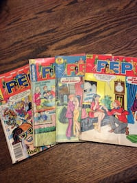 comic books PEP, Laugh, and Archie (21)