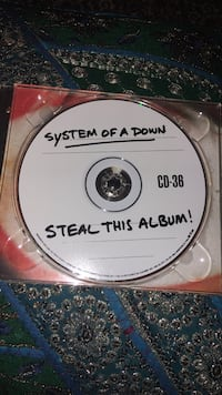 System of a Down: steal this album!  Geyserville, 95441