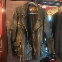 Men's leather jacket size medium  Manalapan, 07726