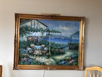 painting of brown wooden house Payson, 85541