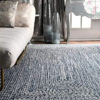 New Hand-Braided 4'x6' Rug (Firm Price) Ajax