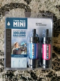 *new*Sawyer twin pack mini water filtration system