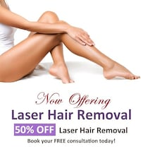 get rid of unwanted hair  Mississauga, L4Y 3V2