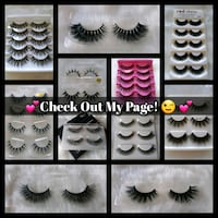 Eyelashes - Check Out My Page!  Palmdale, 93550