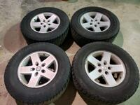 JEEP WRANGLER RIMS AND TIRES  Toronto