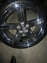22 Inch Iroc rims and tires all 4 available Charlotte, 28216
