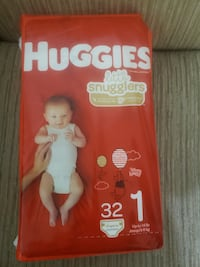 Huggies little snugglers diapers size 1 BN Mississauga