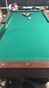 green and brown pool table San Marcos, 78666