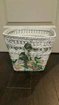 Decorative Wicker Basket London, N6G