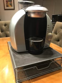 Tassimo Coffee maker with T-disc storage unit included New York