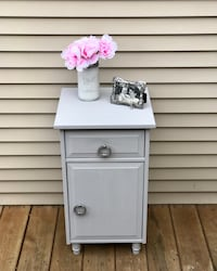 SMALL PARIS GREY CABINET