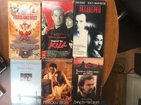 VHS Movies. 6 different Movies for $10 obo  Deerfield Beach