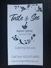 Catering Houston