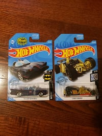 HOT WHEELS STREET CREEPER 203/250 + TV SERIES BATMOBILE 118/250