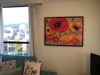 two brown wooden framed painting of woman North Vancouver, V7L 3V3