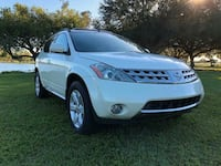 Nissan Murano SL  Base White Miami Beach, 33139