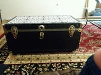 black and brown wooden chest box Odenton, 21113