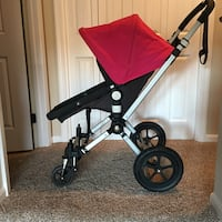 Black pink and gray stroller Reston, 20191