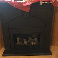 4' H x 3' W Plug-in Fireplace Halifax
