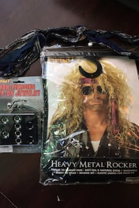 Rocker Wig set Halloween costume
