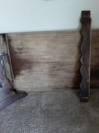 Antique trestle table , paid $300 for it started to refinish it ,
