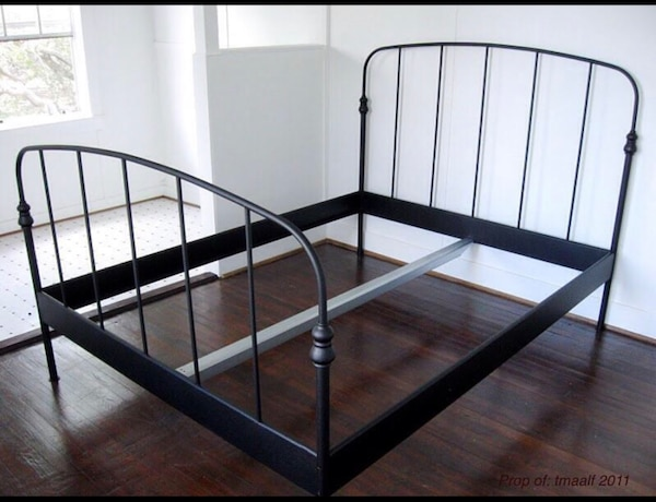 used ikea full size bed frame for sale in raleigh letgo. Black Bedroom Furniture Sets. Home Design Ideas
