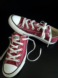 Rot-Weiß Converse All Stars 36,5 Low Top Sneaker