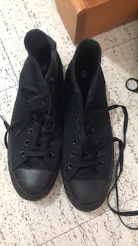 brand new black converse high tops  Winnipeg, R3T 3A1