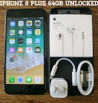 space gray iPhone 6 with charger Arlington