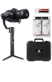 Zhiyun Crane Plus 3Axis Gimbal Stabilizer for DSLRs and Video Cameras. With carry case. In  a box.  Las Vegas, 89147