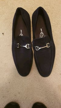 Navy blue suede loafers (Mens) Silver Spring, 20906