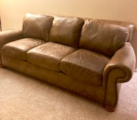 Leather Flexsteel Couch, Chair and Ottoman Jacksonville, 32258