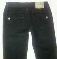 black denim True Religion jeans Vancouver, V6H 2N9