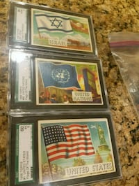 Topps Countries of the world cards Severna Park, 21146
