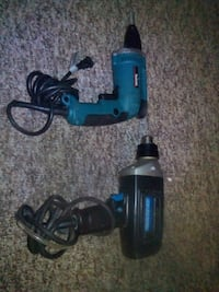 black and blue Makita corded power drill Red Deer, T4P 0E7