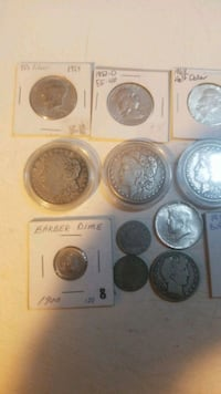 assorted silver-colored coins Coon Rapids, 55433