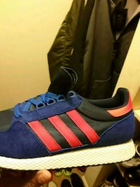 Adidas size 12 Royal blue and infrared