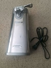 Brushed Cuisinart Electric Can Opener North Vancouver, V7G 2S8