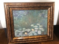 2 Framed Monet Waterlily Paintings  Houston, 77024