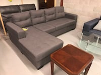 Brand new grey fabric sectional sofa warehouse sale  多伦多