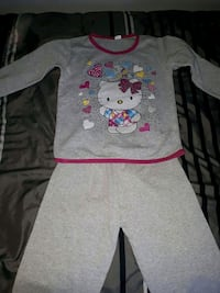 gray and pink Hello Kitty long-sleeved dress Montréal, H4L 2X5